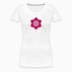 Flower of life, Lotus-Flower, vector, c, energy symbol, healing symbol Women's T-Shirts
