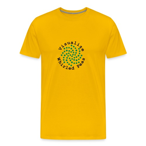 Visualize Whirled Peas - Men's Premium T-Shirt