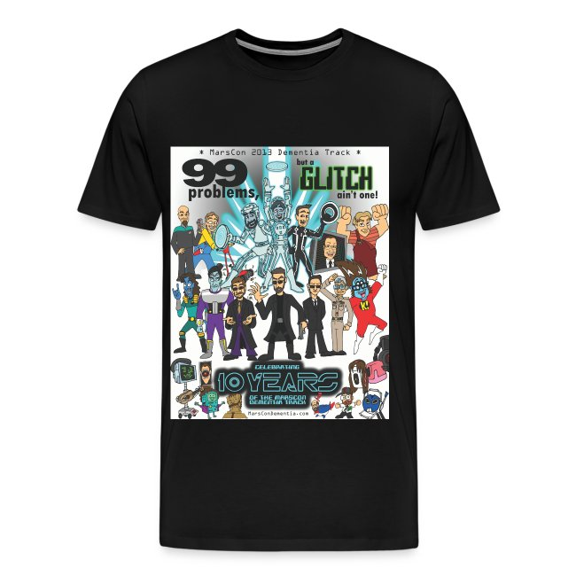 Men's Marscon 2013 black t-shirt