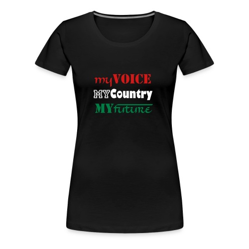 Be The Change - Women's Premium T-Shirt