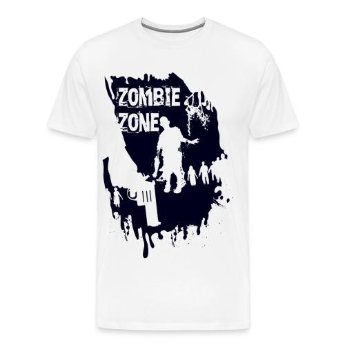 Zombie Zone - Men's Premium T-Shirt
