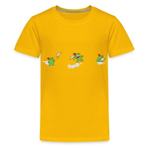 Just For Laughs Kids' T Victor Paper Airplane - Kids' Premium T-Shirt