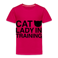 Baby & Toddler Shirts ~ Toddler Premium T-Shirt ~ Cat Lady in Training