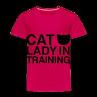 Baby & Toddler Shirts ~ Toddler Premium T-Shirt ~ Cat Lady in Training