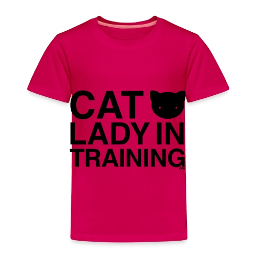Cat Lady in Training - Toddler Premium T-Shirt