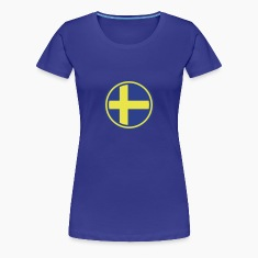 sweden flag Women's T-Shirts