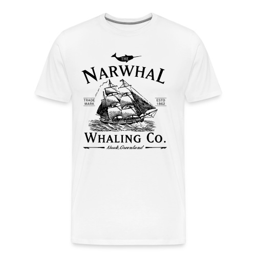 Narwhal Whaling Co. - Men's Premium T-Shirt