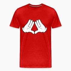 Mickey Mouse Diamond Hands Men's T-Shirt
