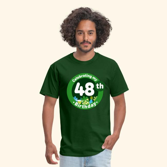 48th Birthday Mens T Shirts