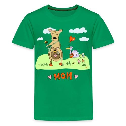 Kids' Tee   Moms are Best - Kids' Premium T-Shirt