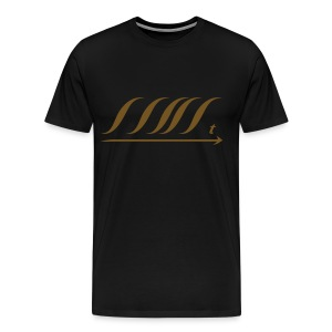WingBeat-Gold Glitz - Men's Premium T-Shirt