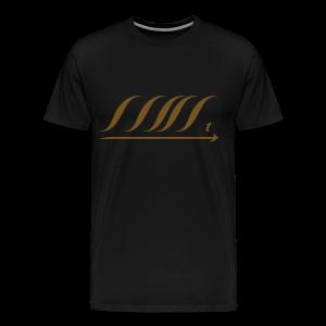 WingBeat-Gold Glitz - Men's Premium T-Shirt