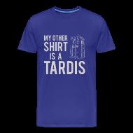 T-Shirts ~ Men's Premium T-Shirt ~ My Other Shirt Is A Tardis