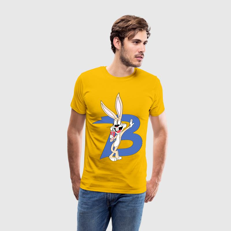 bugs bunny drinking soda - Men's Premium T-Shirt