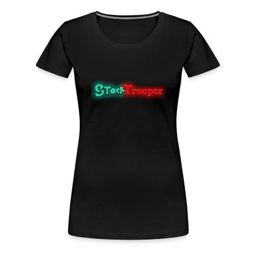 Storp Trooper (Girls) - Women's Premium T-Shirt