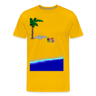 T-Shirts ~ Men's Premium T-Shirt ~ Beach