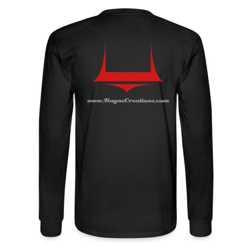 Rayne Creations Back Logo - Men's Long Sleeve T-Shirt