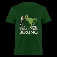 T-Shirts ~ Men's T-Shirt ~ T-Rex Hates Boxing