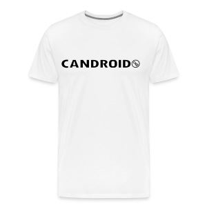 Candroid Shirt (black text) - Men's Premium T-Shirt
