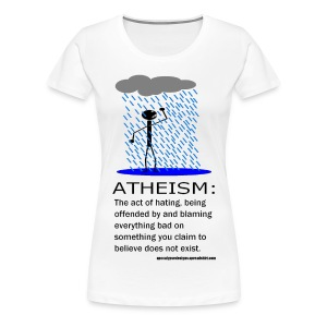 Atheism Defined - Women's Premium T-Shirt