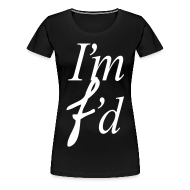 Women's T-Shirts ~ Women's Premium T-Shirt ~ I AM FADED