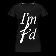 Women's T-Shirts ~ Women's Premium T-Shirt ~ I AM FADED