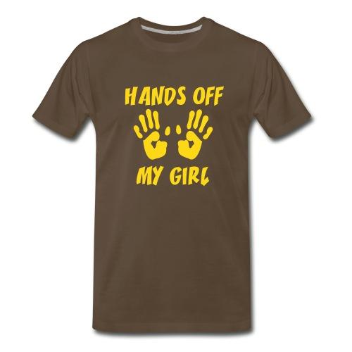 Hand off - Men's Premium T-Shirt