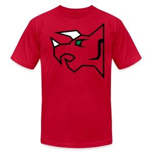 The Horned Heroine - Men's Fine Jersey T-Shirt