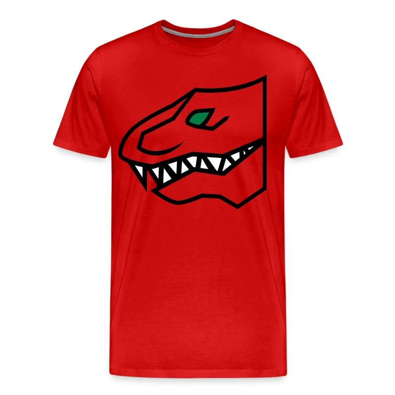 The Fanged Hero - Men's Premium T-Shirt