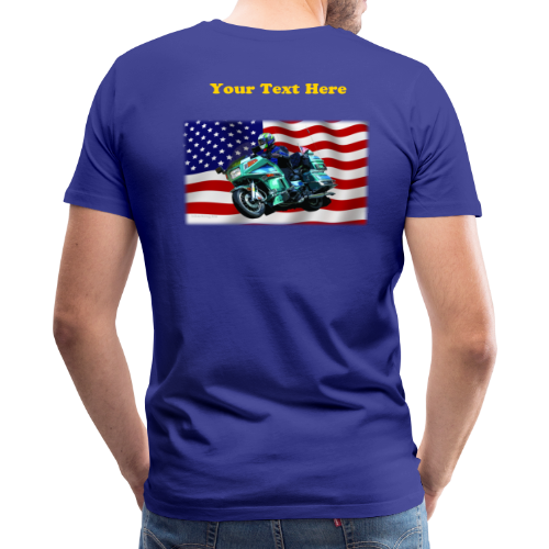 Men's Premium T Back FlagVoy Custom - Men's Premium T-Shirt