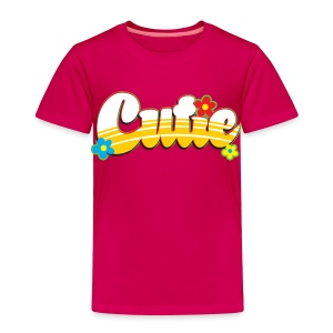 cutie - Toddler Premium T-Shirt