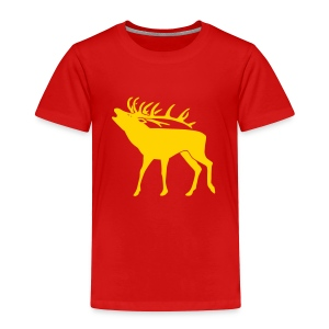 animal t-shirt stag antler cervine deer buck night hunter bachelor - Toddler Premium T-Shirt