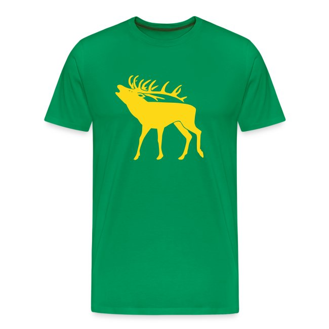 animal t-shirt stag antler cervine deer buck night hunter bachelor