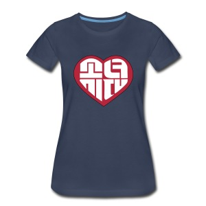SNSD - IGAB Logo (Red) - Women's Premium T-Shirt