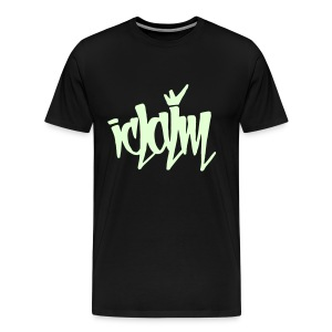 ICLAIM Glow In The Dark Tag - Men's Premium T-Shirt