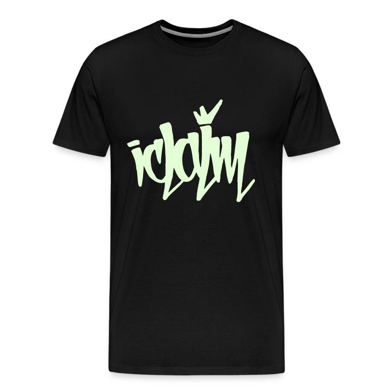 ICLAIM Glow In The Dark Tag - Men's Premium T-Shirt