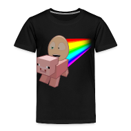 Baby & Toddler Shirts ~ Toddler Premium T-Shirt ~ Nyan Pig - Toddlers T-Shirt