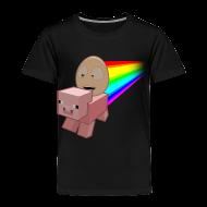 Baby & Toddler Shirts ~ Toddler Premium T-Shirt ~ Nyan Pig - Toddlers T-Shirt