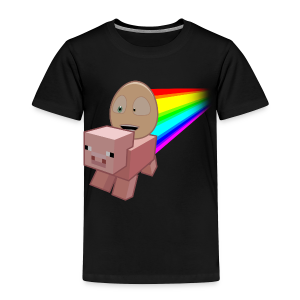 Nyan Pig - Toddlers T-Shirt - Toddler Premium T-Shirt