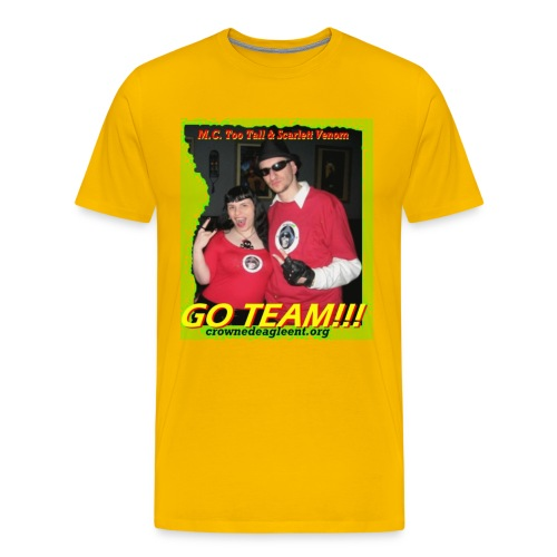 Go Team (male) - Men's Premium T-Shirt