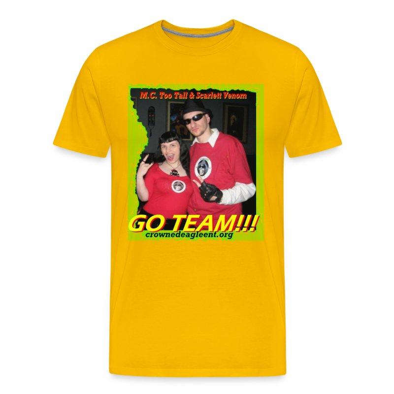 Go Team (male) - Men's Premium T-Shirt