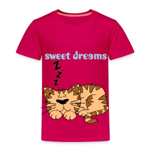 sweet dreams t-shirt - Toddler Premium T-Shirt