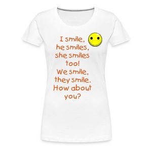 Learn English shirts - Women's Premium T-Shirt