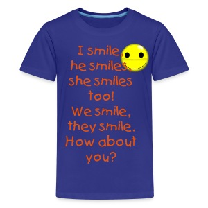 Learn English shirts - Kids' Premium T-Shirt