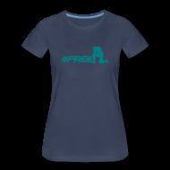 T-Shirts ~ Women's Premium T-Shirt ~ #freeTebow - Womens