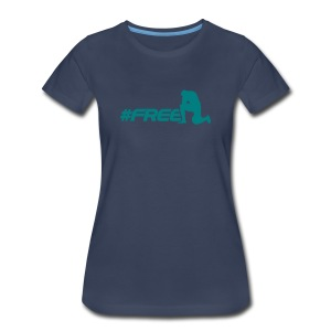 #freeTebow - Womens - Women's Premium T-Shirt