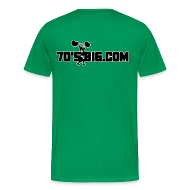 T-Shirts ~ Men's Premium T-Shirt ~ Reckless -- 3X