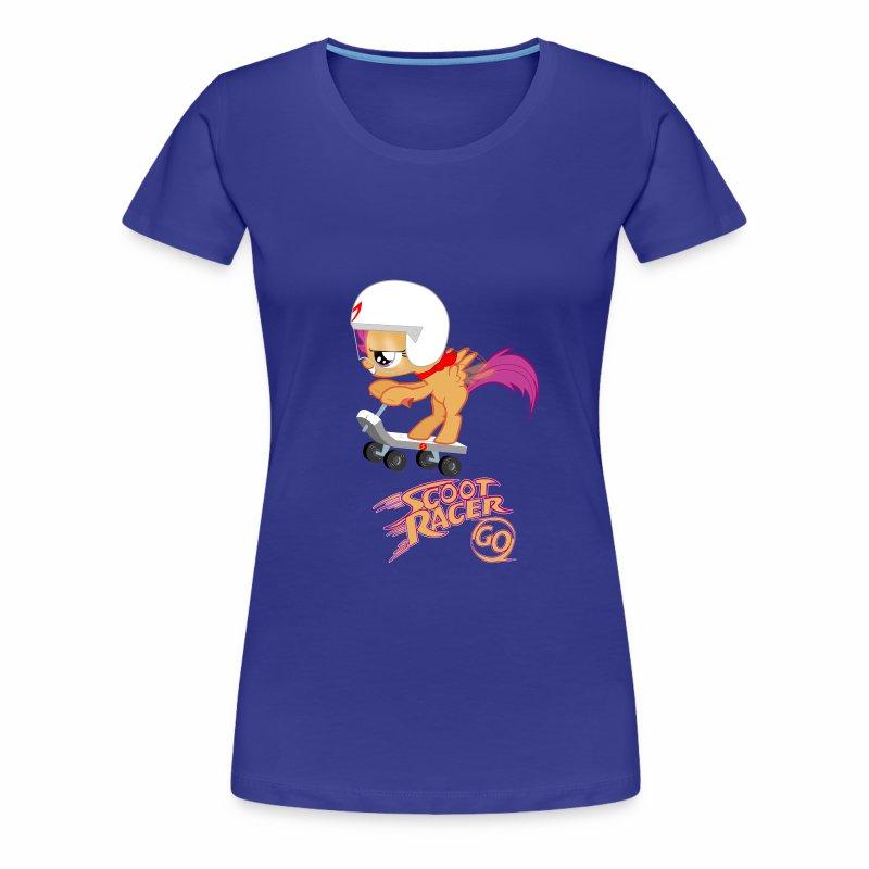 Scoot Racer Fillies' Tee - Women's Premium T-Shirt