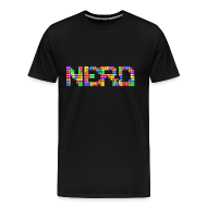 T-Shirts ~ Men's Premium T-Shirt ~ Nerd Tetris