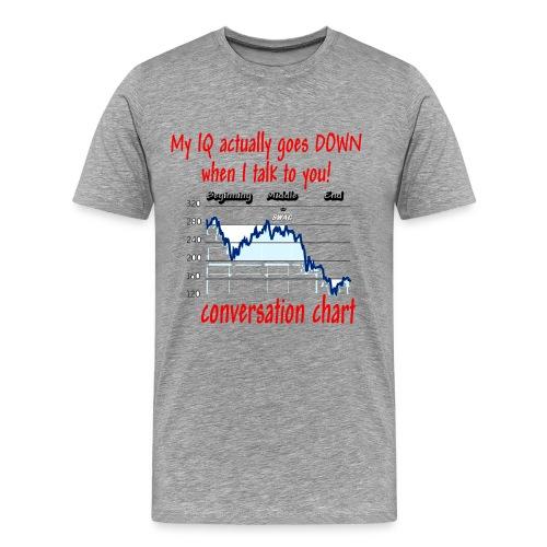 Conversation Chart (big) - Men's Premium T-Shirt